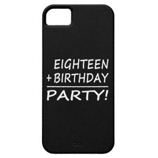 Décimo octavos cumpleaños: Dieciocho + Cumpleaños  iPhone 5 Case-Mate Cobertura