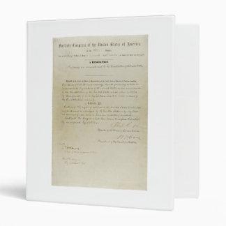 Décimo quinta constitución de los E.E.U.U. de la e