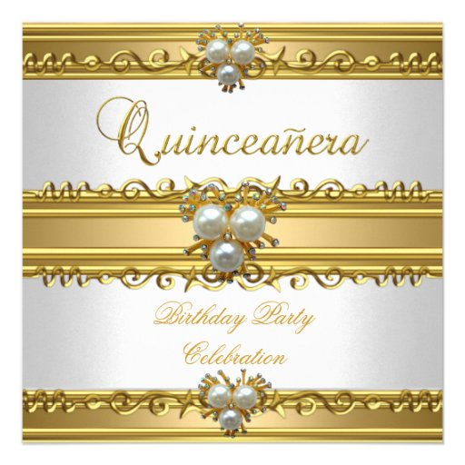 Décimo quinta joya elegante de la perla del oro bl anuncios personalizados
