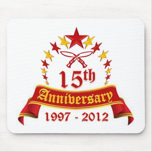 décimo quinto Aniversario Alfombrilla De Raton