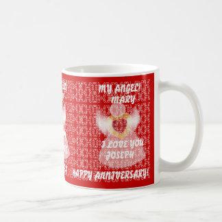 Décimo quinto Aniversario-Personalizar del boda Taza