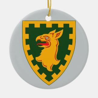 décimo quinto Brigada de la policía militar Adorno Redondo De Cerámica