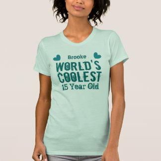 décimo quinto El K15C 15 años más fresco del mundo Camiseta