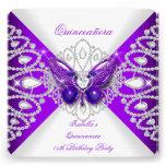 Décimo quinto fiesta púrpura 2 de la tiara de la m comunicado