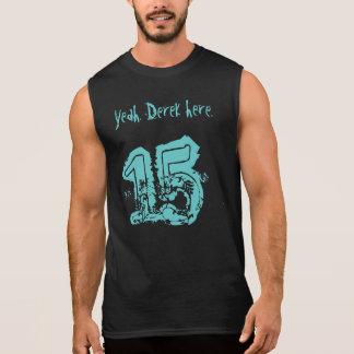 décimo quinto Nombre de encargo del regalo de Camiseta Sin Mangas