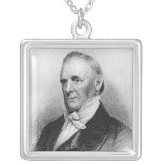 Décimo quinto presidente de James Buchanan Colgante Cuadrado