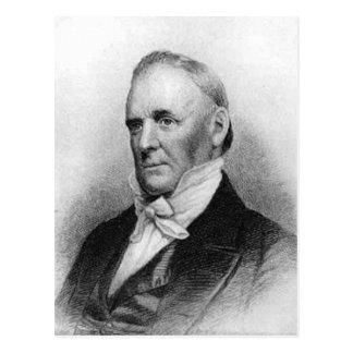 Décimo quinto presidente de James Buchanan Tarjeta Postal