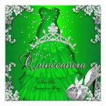 Décimo quinto vestido del vestido de la verde lima comunicado