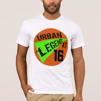 décimosexto Camiseta de los regalos de cumpleaños