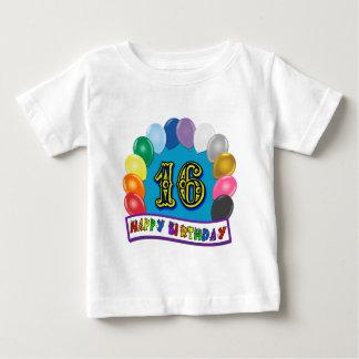 décimosexto Camiseta del arco del globo del