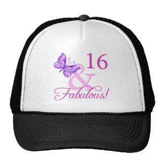 Décimosexto cumpleaños fabuloso gorra