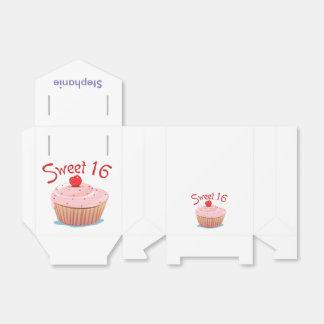 Décimosexto cumpleaños personalizado del dulce cajas para detalles de boda