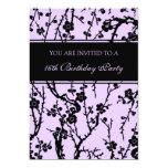Décimosexto invitaciones de la fiesta de anuncio personalizado