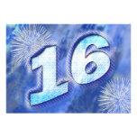 décimosexto La fiesta de cumpleaños invita