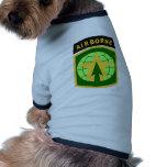 décimosexto Policía militar Camisa De Mascota