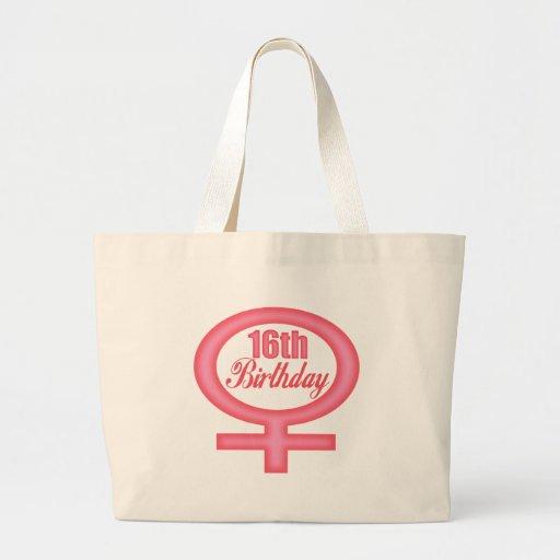 Décimosexto regalos de cumpleaños de los chicas bolsas de mano
