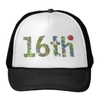 décimosexto Regalos del globo del cumpleaños Gorras De Camionero