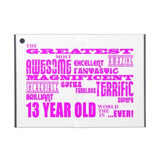 Décimotercero cumpleaños de los chicas: 13 años má iPad mini carcasa