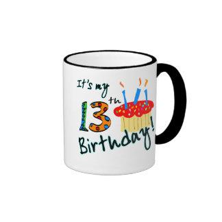 décimotercero Cumpleaños Taza De Dos Colores