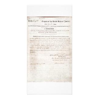 décimotercero Enmienda de la constitución de Estad Tarjeta Fotográfica Personalizada
