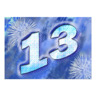 décimotercero fiesta de cumpleaños