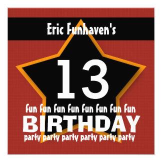 décimotercero Fiesta de cumpleaños o cualquier EST