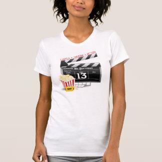 décimotercero Fiesta de la película del cumpleaños Camisas