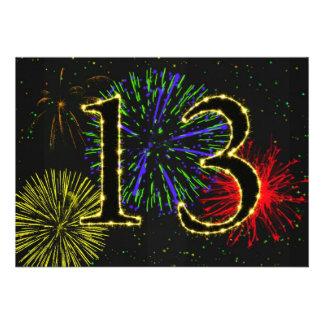 décimotercero invitate de la fiesta de cumpleaños