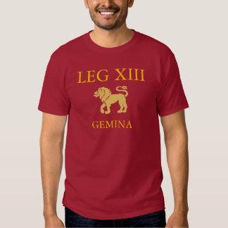 Décimotercero legión romana camisas
