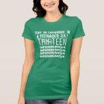décimotercero Nombre de encargo V15 de las rocas d Camiseta