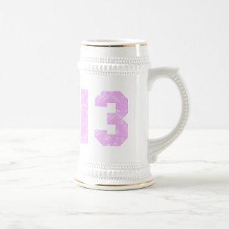décimotercero Presentes de cumpleaños Jarra De Cerveza