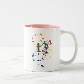 décimotercero Viernes Tazas De Café