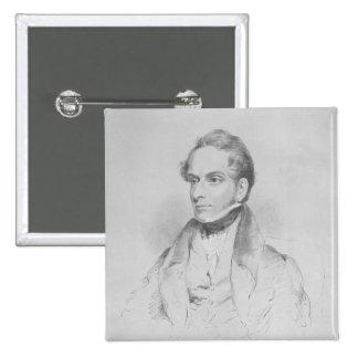 Decimus Burton, lithograph by Maxim Gauci Button