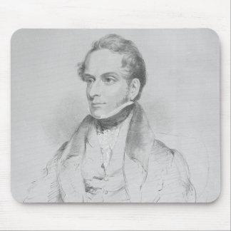 Decimus Burton, lithograph by Maxim Gauci Mouse Pad
