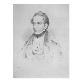 Decimus Burton, lithograph by Maxim Gauci Postcards
