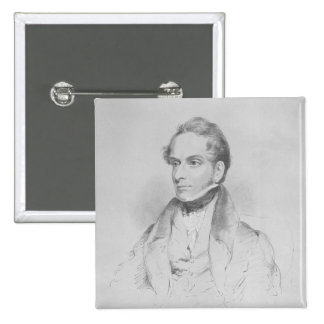 Decimus Burton, litografía por la máxima Gauci Pin Cuadrado