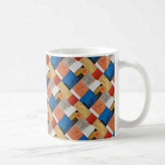 Deciphering Indus Abstract Art Mug (tiled design)