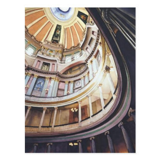 """Decision"" Architecture Watercolor Postcard"