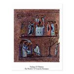 Decisión de Pilatius por el amo de los evangelios  Tarjetas Postales