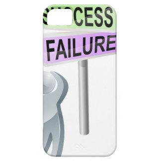 Decisión del éxito o del fracaso iPhone 5 carcasas