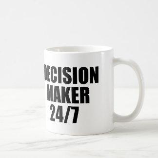 DECISION MAKER 24/7 COFFEE MUG