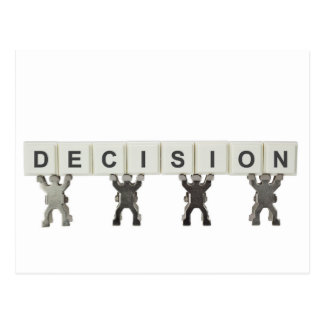 Decision Postcard