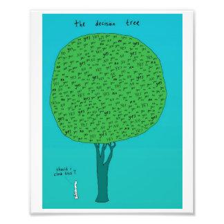 decision tree photo print