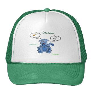Decisiones de las decisiones de las decisiones del gorras