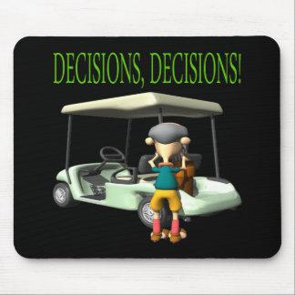 Decisions Decisions Mousepads