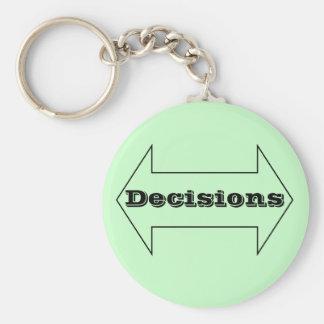 Decisions Key Chains
