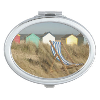 Deck Chair And Beach Huts | Southwold, Suffolk Vanity Mirror