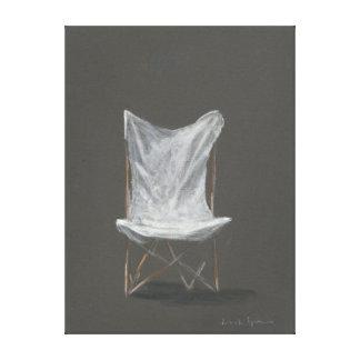 Deck Chair Canvas Print