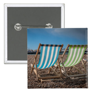 Deck Chairs Looking At The Sea Button