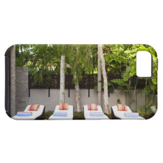 Deck Chairs Tropical House iPhone 5 Case